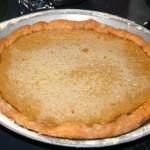 Pie One Layer One- Custard