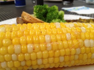 Corn on the Cob with Chili Lime Butter (this one has no cheese)